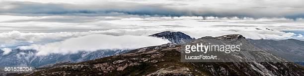 forests and mountain landscape - salamanca imagens e fotografias de stock