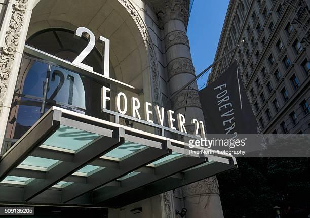forever 21 - forever 21 ストックフォトと画像