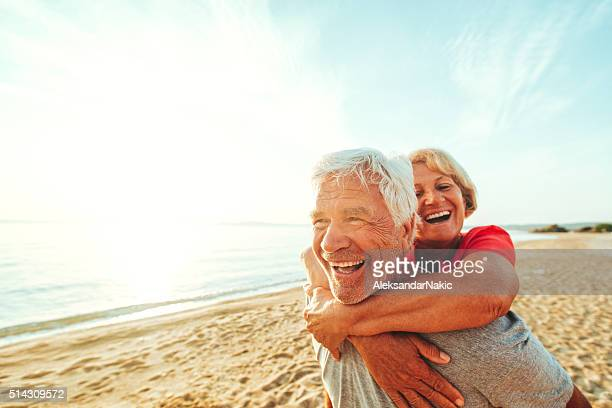 forever young - active senior stock photos and pictures