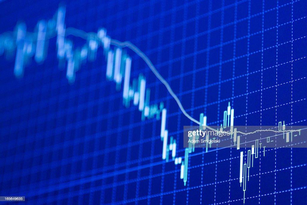 forex charts : Stock Photo