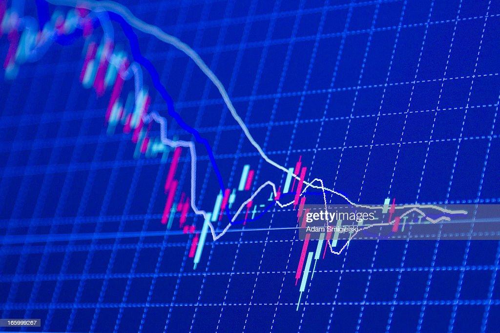 forex Diagrammen : Stock-Foto