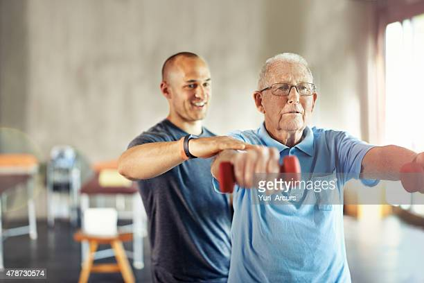 forget about age, it's time to engage - training course stockfoto's en -beelden