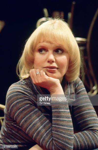 Forget Me Not actress Patricia Brake in character as Pat Powell, circa 1976.