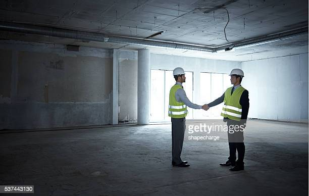 Forging a solid foundation for a successful partnership