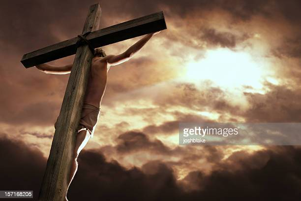 forgiveness - death and resurrection of jesus stock photos and pictures