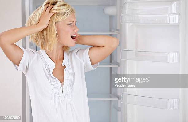 Ich habe vergessen, kaufen Sie Lebensmittel!