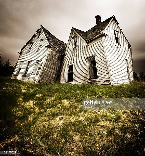 forgotten home - boarded up stock photos and pictures