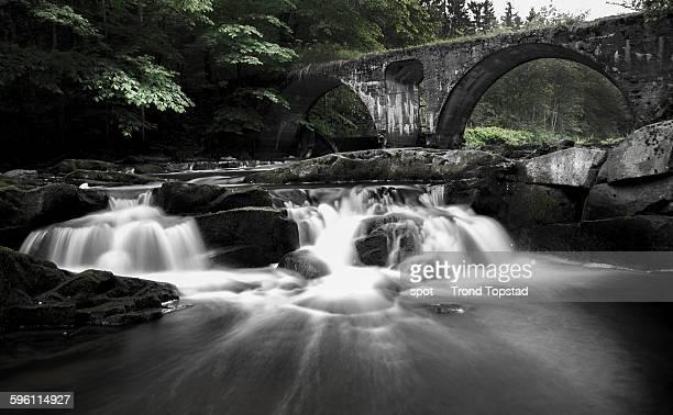 Forgotten stone bridge