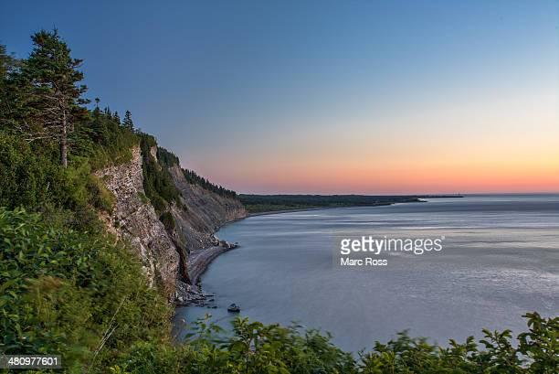 forillon, cap-bon-ami, gaspésie - forillon national park stock pictures, royalty-free photos & images