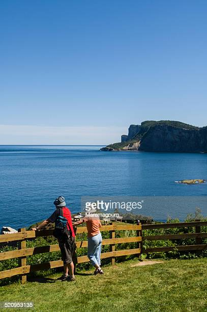 forillon national park, forillon peninsula - forillon national park stock pictures, royalty-free photos & images
