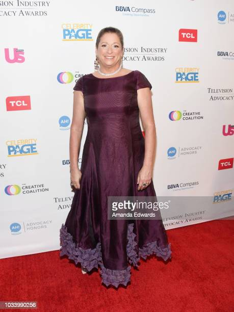 Fork Films CEO and President Abigail Disney arrives at 2018 Television Advocacy Awards Benefiting The Creative Coalition at the Sofitel Los Angeles...