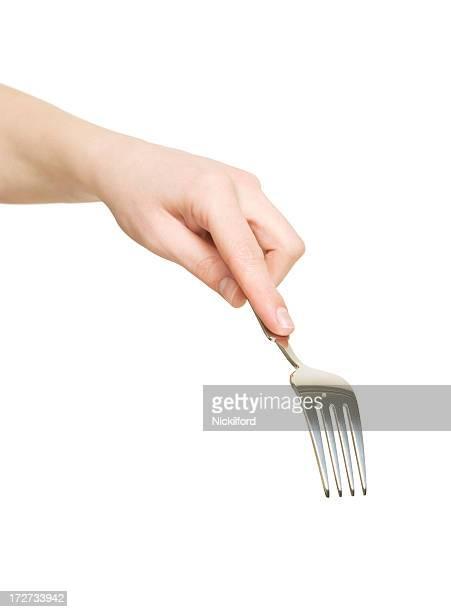 fork it! - vork stockfoto's en -beelden