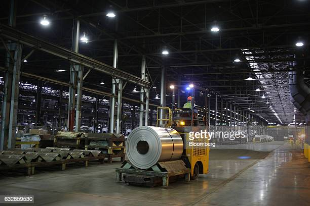 35 Operations Inside An Arconic Inc Aluminum Coil Manufacturing