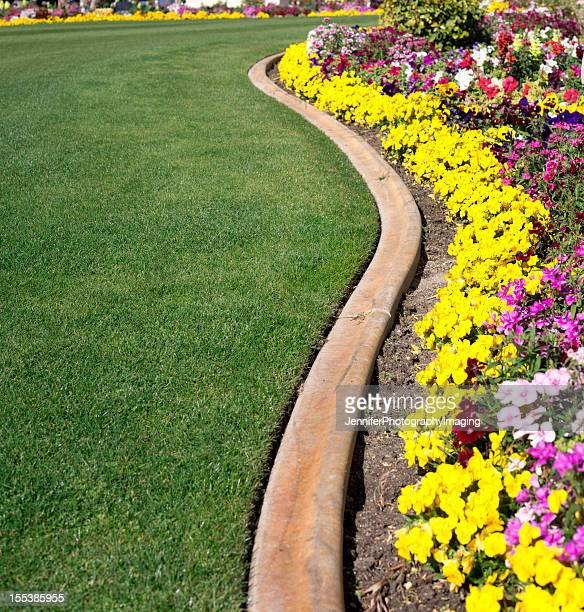 Formal Garden and lawn