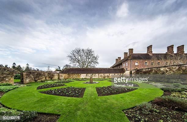 Formal Garden at Winter