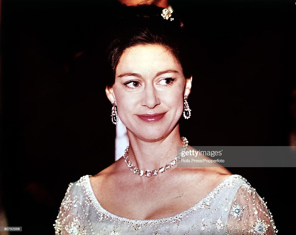 1967 A formal head and shoulders portrait Princess Maragaret. : News Photo