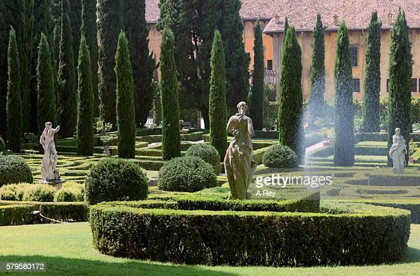 Formal Italian Garden