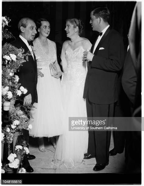 Formal Party 16 November 1951 Mr and Mrs James Blakeley Pendleton hostsMr and Mrs Robert GrossMiss Felicia VanderbiltJohn Mills of LondonMr and Mrs...
