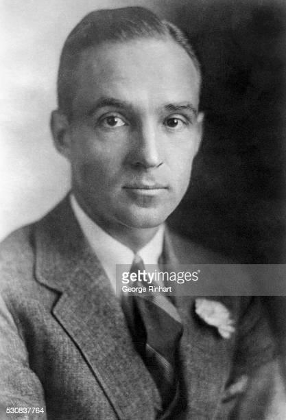 Formal portrait of Edsel Ford, son of automobile manufacturer Henry Ford..