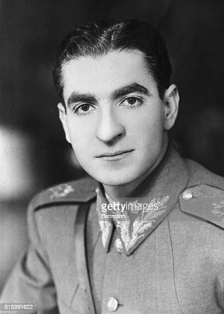 Formal Portrait of the Shah Reza Pahlevi of Iran Undated photo circa 1950s