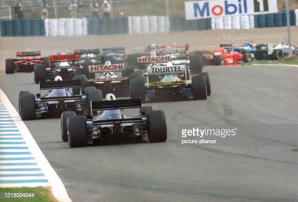 Formel 1 1994 - Großer Preis von Europa in Jerez de la Frontera am : Rennszene.