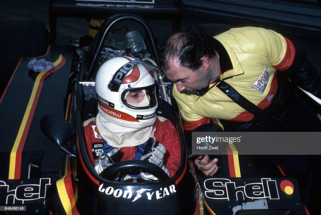 Formel 1, Grand Prix Belgien 1979, Zolder, 13.05.1979 Boxengasse, Kauhsen-Box Gianfranco Brancatelli, Kauhsen-Ford WK Wi : News Photo