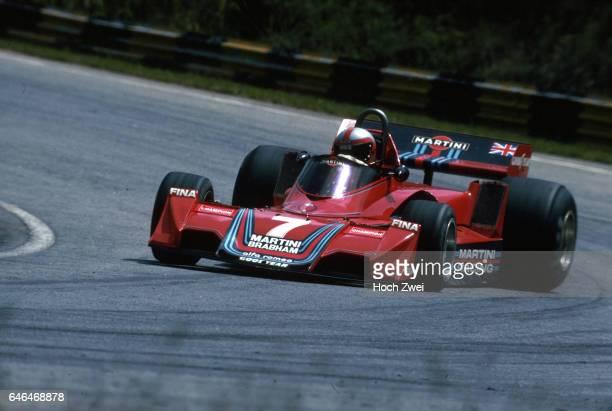 Formel 1 Grand Prix Brasilien 1977 Interlagos John Watson BrabhamAlfa Romeo BT45 wwwhochzweinet copyright HOCH ZWEI / Ronco