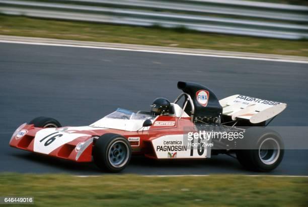 Formel 1 Grand Prix Deutschland 1972 Nuerburgring Nordschleife Andrea de Adamich SurteesFord TS9B wwwhochzweinet copyright HOCH ZWEI / Ronco