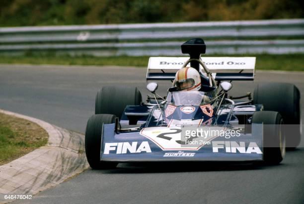 Formel 1 Grand Prix Deutschland 1973 Nuerburgring Nordschleife Mike Hailwood SurteesFord TS14A wwwhochzweinet copyright HOCH ZWEI / Ronco