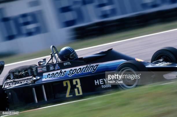Formel 1 Grand Prix Deutschland 1978 Hockenheimring Harald Ertl EnsignFord N177 wwwhochzweinet copyright HOCH ZWEI / Ronco