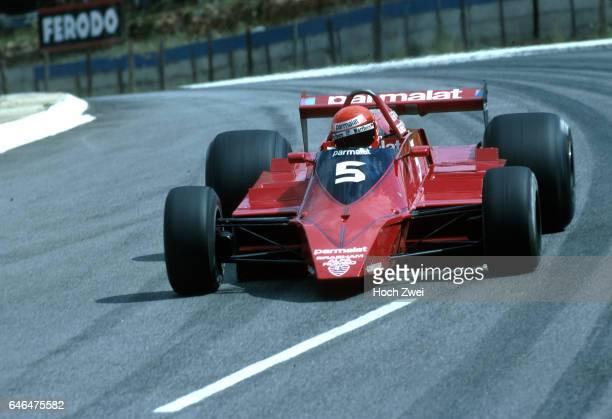 Formel 1 Grand Prix Frankreich 1979 Dijon Niki Lauda BrabhamAlfa Romeo BT48 wwwhochzweinet copyright HOCH ZWEI / Ronco