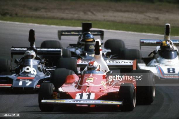 Formel 1 Grand Prix Italien 1975 Monza Clay Regazzoni Ferrari 312T JeanPierre Jarier ShadowMatra DN7 Carlos Pace BrabhamFord BT44B Ronnie Peterson...