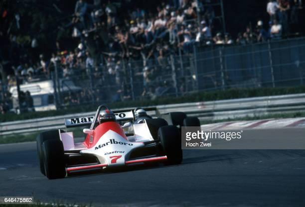 Formel 1 Grand Prix Italien 1979 Monza John Watson McLarenFord M29 Riccardo Patrese ArrowsFord A2 wwwhochzweinet copyright HOCH ZWEI / Ronco
