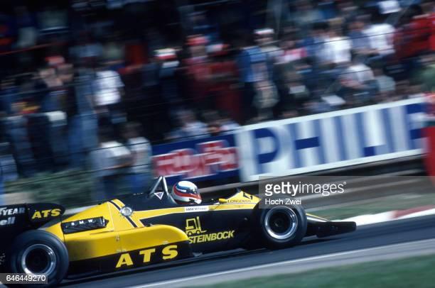 Formel 1 Grand Prix Italien 1983 Monza Manfred Winkelhock ATSBMW D6 wwwhochzweinet copyright HOCH ZWEI / Ronco