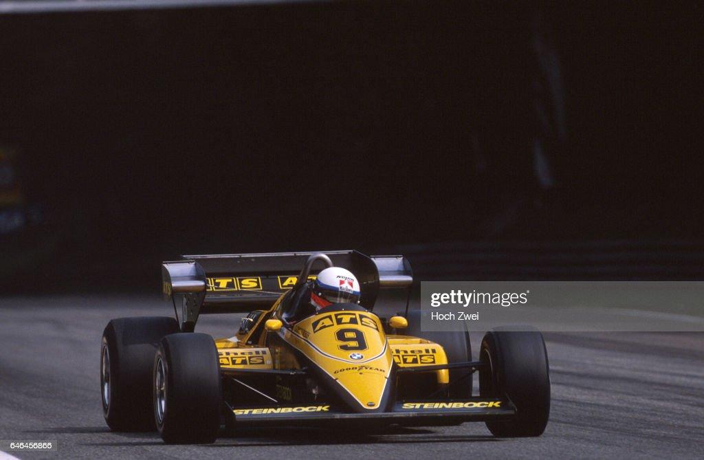 Formel 1, Grand Prix Italien 1983, Monza, 11.09.1983 Manfred Winkelhock, ATS-BMW D6 www.hoch-zwei.net , copyright: HOCH : News Photo