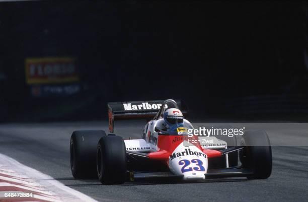 Formel 1 Grand Prix Italien 1983 Monza Mauro Baldi Alfa Romeo 183T wwwhochzweinet copyright HOCH ZWEI / Ronco