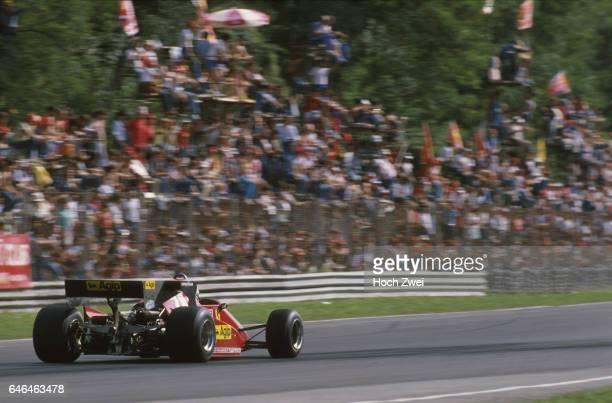 Formel 1 Grand Prix Italien 1983 Monza Rene Arnoux Ferrari 126C3 wwwhochzweinet copyright HOCH ZWEI / Ronco
