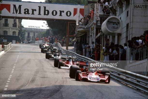 Formel 1 Grand Prix Monaco 1976 Monte Carlo Carlos Pace BrabhamAlfa Romeo BT45 Chris Amon EnsignFord N176 Tom Pryce ShadowFord DN5B Gunnar Nilsson...