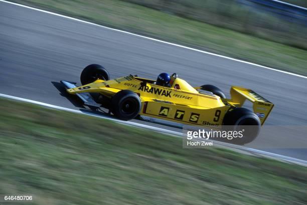 Formel 1 Grand Prix Niederlande 1979 Zandvoort HansJoachim Stuck ATSFord D3 wwwhochzweinet copyright HOCH ZWEI / Ronco