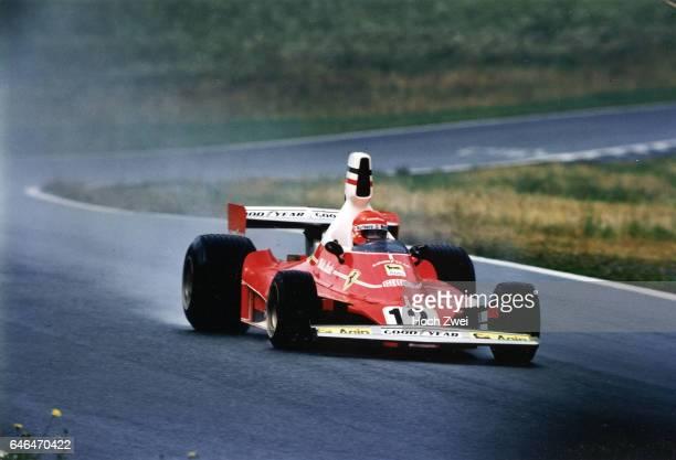 Formel 1 Grand Prix Oesterreich 1975 Oesterreichring Niki Lauda Ferrari 312T wwwhochzweinet copyright HOCH ZWEI / Ronco