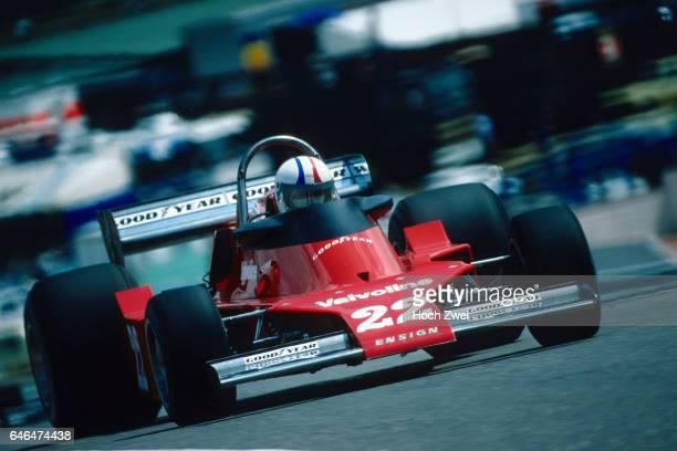 Formel 1 Grand Prix Spanien 1976 Jarama Chris Amon EnsignFord N176 wwwhochzweinet copyright HOCH ZWEI / Ronco