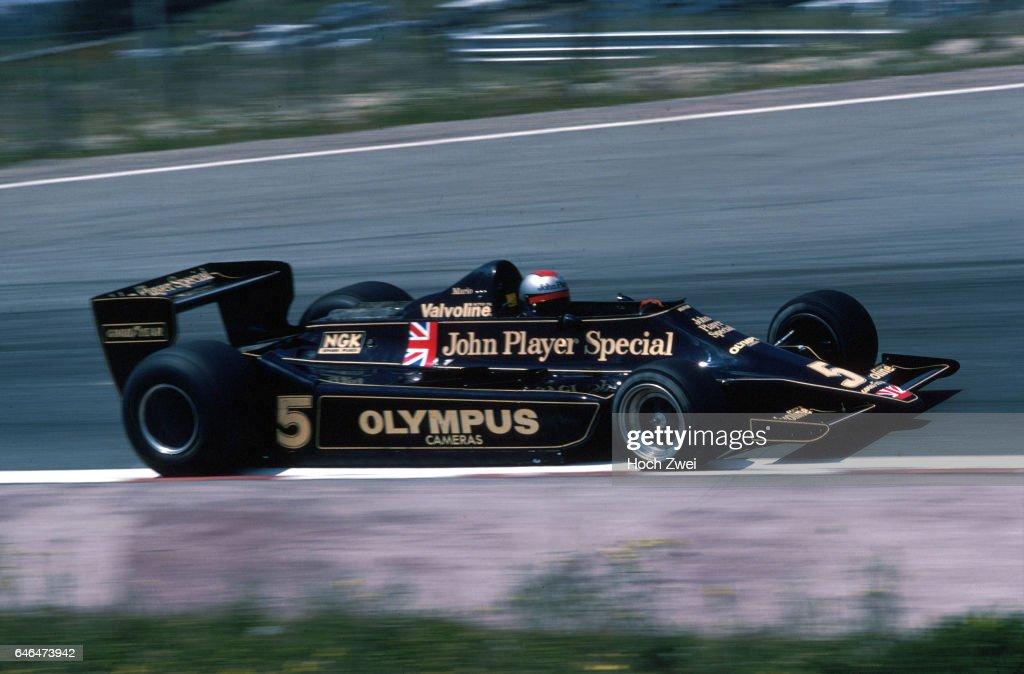 Formel 1, Grand Prix Spanien 1978, Jarama, 04.06.1978 Mario Andretti, Lotus-Ford 79 www.hoch-zwei.net , copyright: HOCH : News Photo