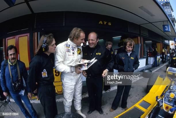 Formel 1, Grand Prix Spanien 1979, Jarama, Boxengasse, ATS-Box Hans-Joachim Stuck Fred Opert, ATS ATS-Team www.hoch-zwei.net , copyright: HOCH ZWEI /...