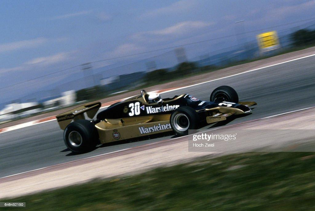 Formel 1, Grand Prix Spanien 1979, Jarama, 29.04.1979 Jochen Mass, Arrows-Ford A1 www.hoch-zwei.net , copyright: HOCH ZW : News Photo