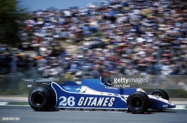 Formel 1, Grand Prix Spanien 1980, Jarama, Jacques Laffite, Ligier-Ford JS11/15 www.hoch-zwei.net , copyright: HOCH ZWEI / Ronco