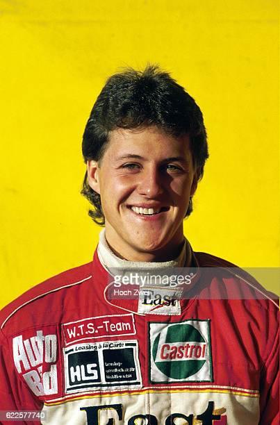 Formel 3 DM, 1990 Fotoshooting Michael Schumacher www.hoch-zwei.net , copyright: HOCH ZWEI / Ronco , parner02