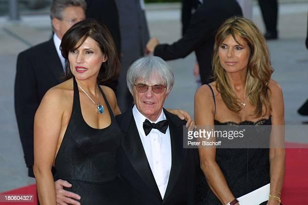 "Formel-1-Boss Bernie Ecclestone, Ehefrau Slavica Ecclestone , Begleiterin , ZDF-Special zur Verleihung des ""3 Laureus World Sports Awards"",..."