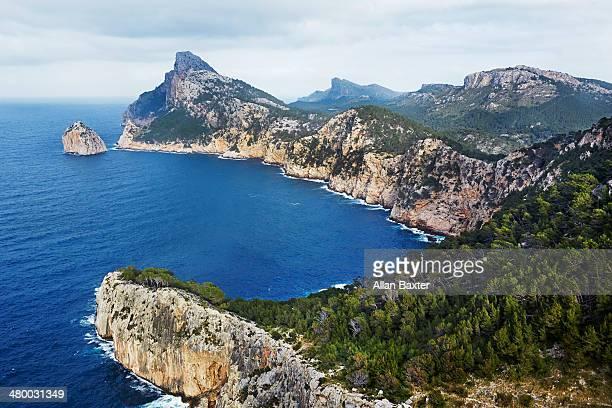 Formentor Cape in Mallorca