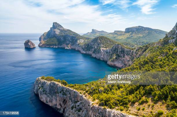 formentor landscape - majorca stock pictures, royalty-free photos & images