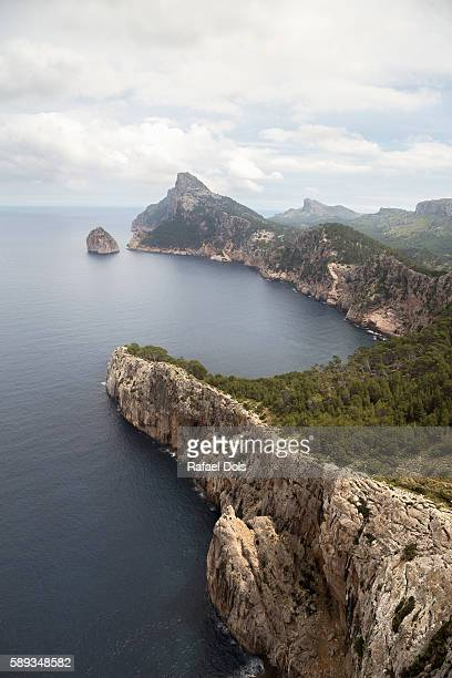 Formentor Peninsula, Majorca, Spain - Vertical view